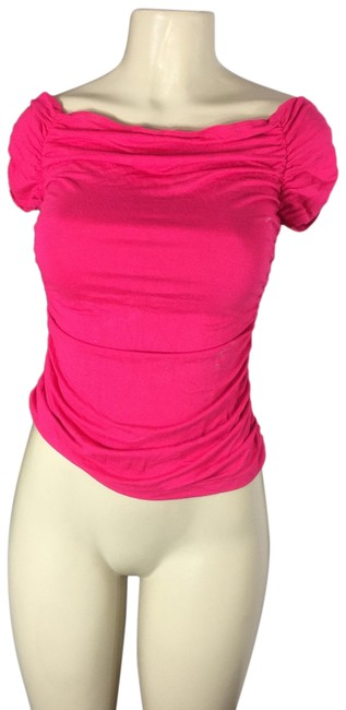Item - Bodycon Blouse Pink Top
