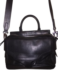 Rag & Bone Lamb Leather Satchel Shoulder Bag