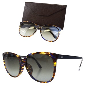 c7ed7dff93e50 Gucci GUCCI GG Logos Sunglasses Eye Wear Plastic Brown 3754 F S Italy