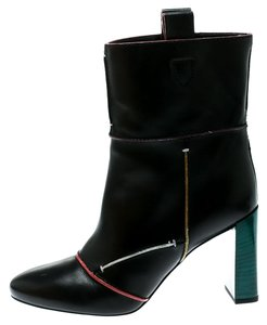 Fendi Leather Black Boots