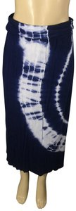 Justice Maxi Skirt tie dye