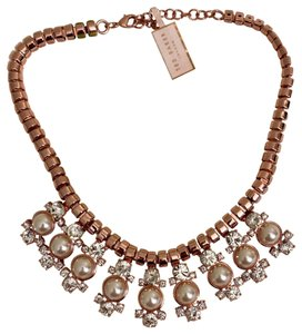 Ted Baker NEW Ted Baker Pearl Droplet Statement Necklace