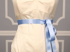 Blue Iris Ribbon Sash