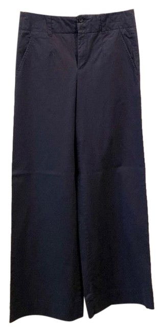 Item - Navy Twill Trousers Pants Size 4 (S, 27)