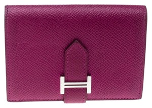 Hermès Tosca Epsom Leather Bearn Card Holder