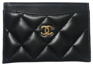 Chanel Lambskin Classic Card Holder