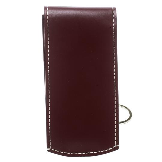 Goyard Burgundy Coated Canvas Portier GM Key Pouch Image 1