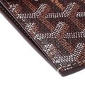 Goyard Burgundy Coated Canvas Portier GM Key Pouch Image 7