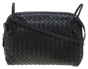 Bottega Veneta Leather Suede Shoulder Bag