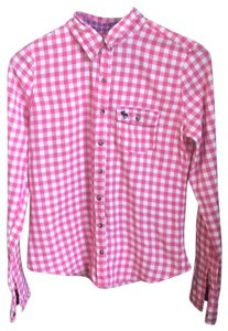 Abercrombie & Fitch Button Down Shirt pink