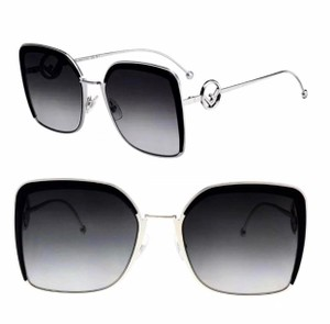 1908279284bed Silver Fendi Sunglasses - Up to 70% off at Tradesy