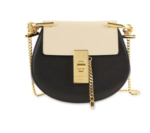 Chloé Drew Nano Two-tone Tumbled Cross Body Bag