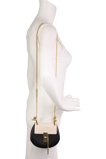 Chloé Drew Nano Two-tone Tumbled Cross Body Bag Image 10