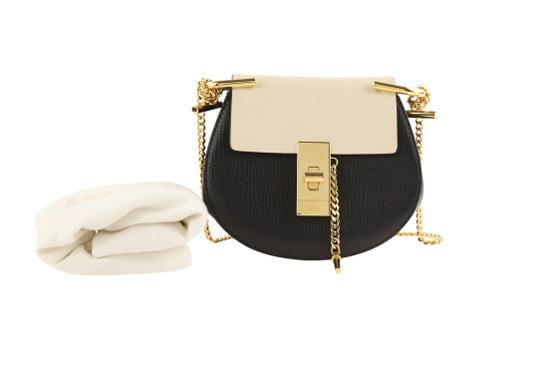 Chloé Drew Nano Two-tone Tumbled Cross Body Bag Image 11