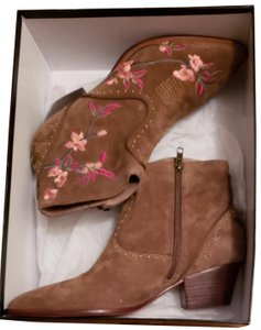 Ash Light brown suede, Russet Boots