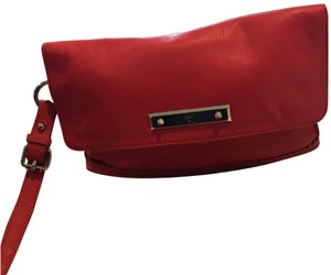 Alexander McQueen Apple red Clutch