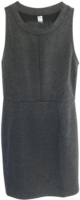 Item - Gray Knit Short Work/Office Dress Size 10 (M)