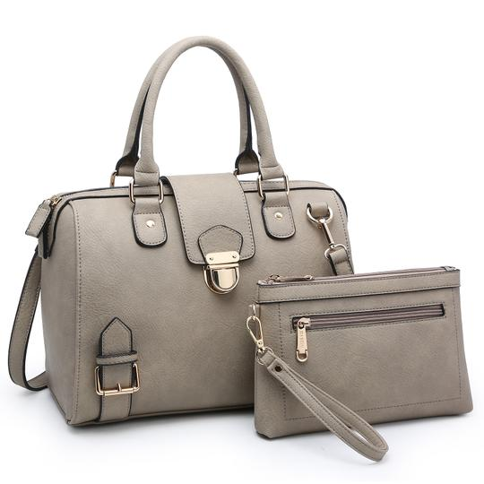 Dasein Handbags Purses Satchel Image 2