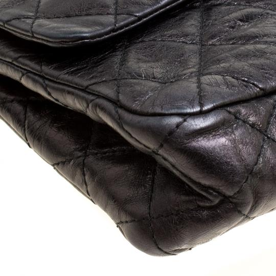 Chanel Quilted Leather 2.55 Classic Shoulder Bag Image 6