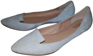 Belle by Sigerson Morrison baby blue suede Flats