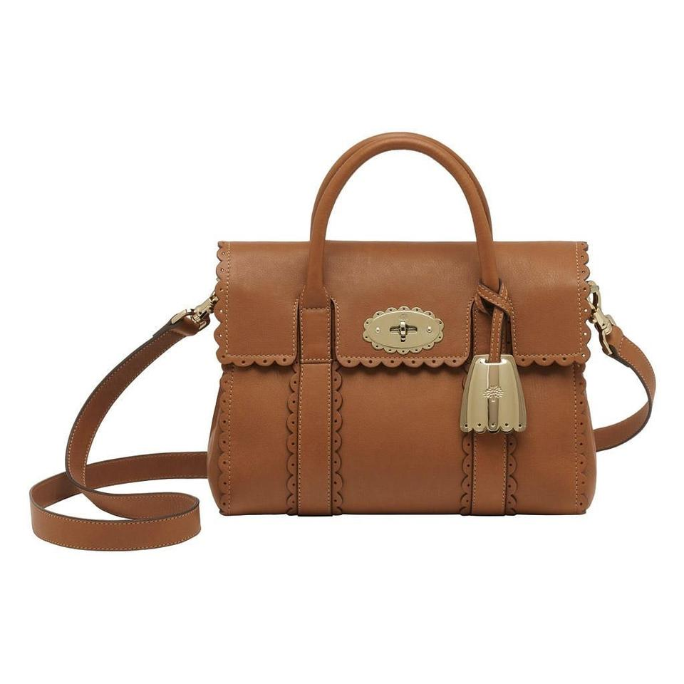7d64631c7 Mulberry Limited Edition Cookie Bayswater Brown Leather Satchel ...