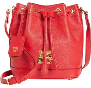 MCM Summer Tote Leather Cross Body Bag