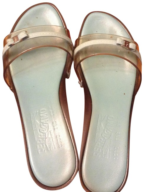 Item - Turquoise Carlyn 0288246 Transparent Capri Calf-turquoise Sandals Size US 7.5 Regular (M, B)