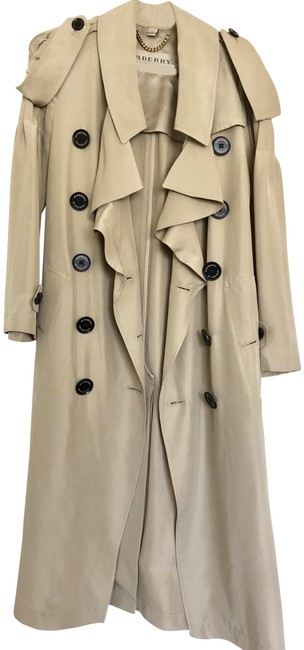 Item - Light Brown Vintage Jacket Double Breasted Coat Size 2 (XS)