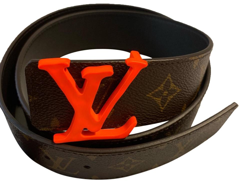 a7b88ec3da2 Louis Vuitton Virgil Abloh ss19 orange monogram 40mm size 85 Image 0 ...