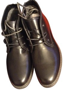 Izod Black-smooth-men's shoes Boots