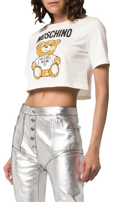 Preload https://img-static.tradesy.com/item/25328714/moschino-multicolor-white-couture-bear-cropped-cotton-t-shirt-tee-shirt-size-10-m-0-1-650-650.jpg