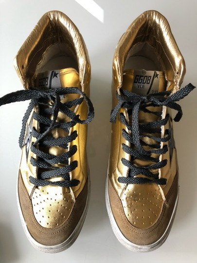Golden Goose Deluxe Brand Gold/Black Athletic Image 4