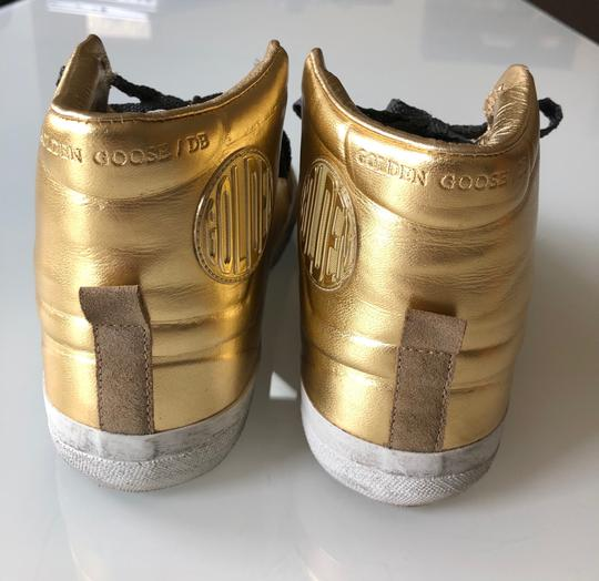 Golden Goose Deluxe Brand Gold/Black Athletic Image 5