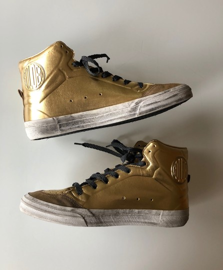 Golden Goose Deluxe Brand Gold/Black Athletic Image 6
