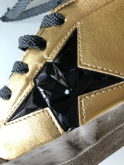Golden Goose Deluxe Brand Gold/Black Athletic Image 7