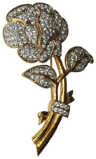 Preload https://img-static.tradesy.com/item/25328751/nolan-miller-gold-vintage-crystal-haute-couture-flower-brooch-0-4-540-540.jpg