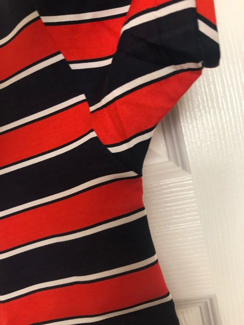 J.Crew Top navy, red, white Image 6