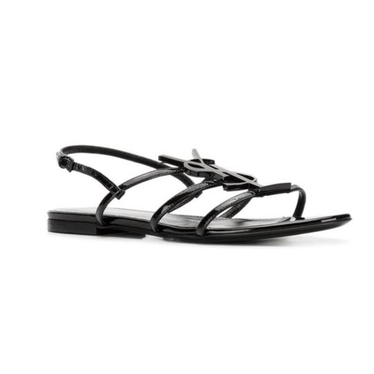 Saint Laurent BLACK Sandals Image 2