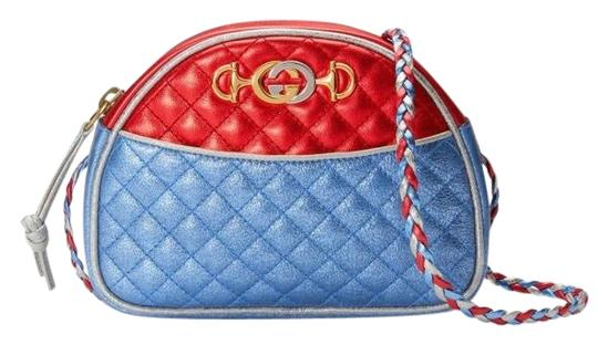 Preload https://img-static.tradesy.com/item/25328834/gucci-quilted-blue-red-silver-laminated-leather-cross-body-bag-0-2-540-540.jpg