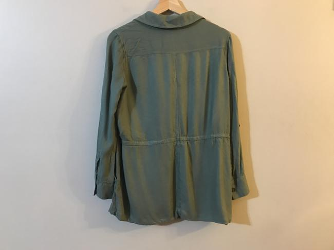 Soft Joie Viscose Twill Agave Green Jacket Image 1