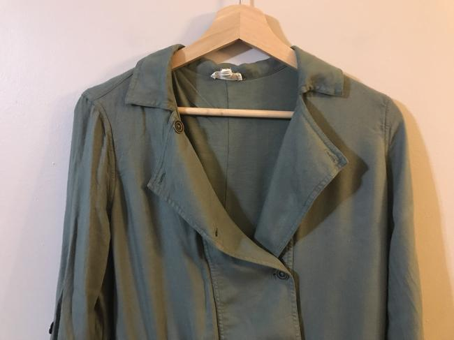 Soft Joie Viscose Twill Agave Green Jacket Image 5