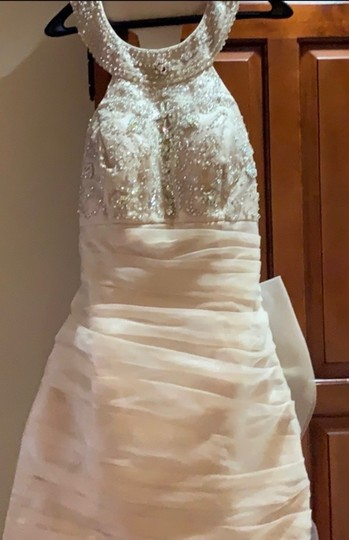 Preload https://img-static.tradesy.com/item/25328982/nicole-bakti-champagne-perfect-for-or-engagement-party-destination-wedding-dress-size-4-s-0-0-540-540.jpg