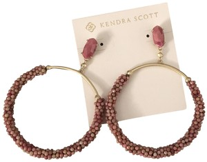 Kendra Scott Brand New pink and gold Kendra Scott Russel Earrings