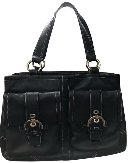 Preload https://img-static.tradesy.com/item/25329065/coach-with-hardware-black-leather-tote-0-1-540-540.jpg