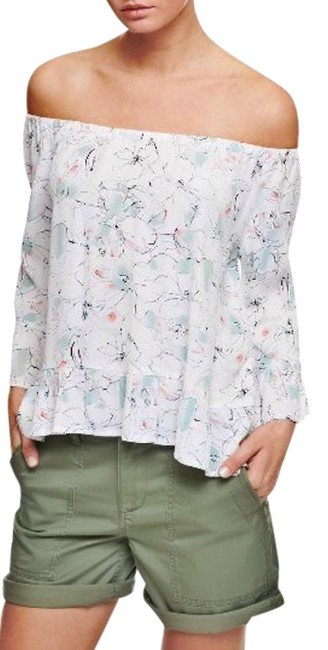 Preload https://img-static.tradesy.com/item/25329090/sanctuary-multicolor-off-the-shoulder-ruffle-sleeve-blouse-size-6-s-0-1-650-650.jpg