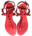 Marian Saud red Sandals