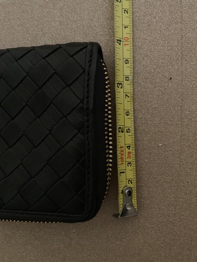 Cole Haan Cole Haan BlackWoven Leather Wallet Image 9