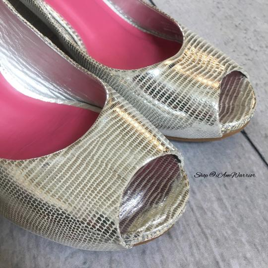 Lilly Pulitzer silver Wedges Image 2