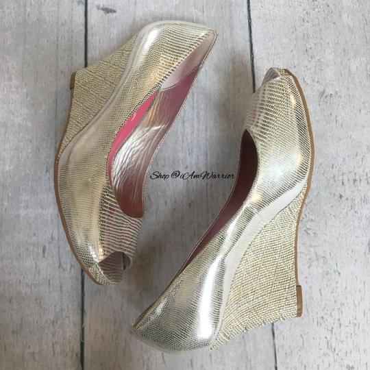 Lilly Pulitzer silver Wedges Image 3