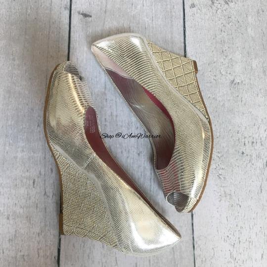 Lilly Pulitzer silver Wedges Image 4
